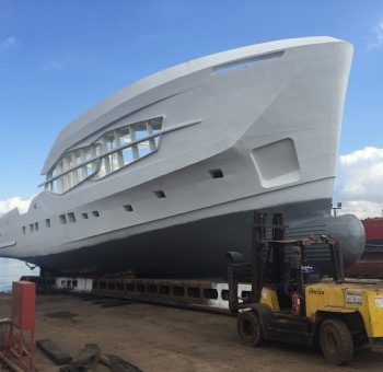 First Hull of Numarine 32XP Explorer Series
