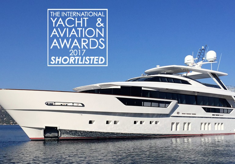 REM Shortlisted in the International Yacht & Aviation Awards